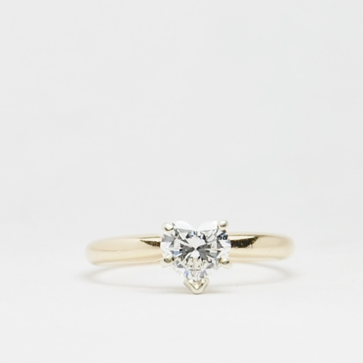 1 Carat Heart Diamond Solitaire