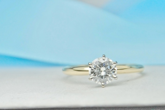 One Carat Round Solitaire